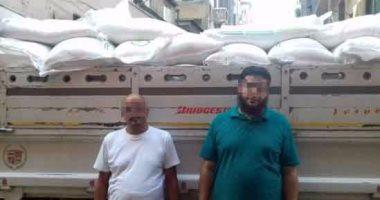 القبض على سائق شركة سكر تموينى قبل تسليمه 10 أطنان لمدير مصنع حلويات