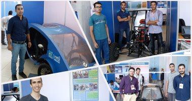 يوم الهندسة..  طلاب مصر يحتفلون بالابتكار فى القرية الذكية