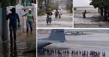 إعصار إرما يصل فلوريدا  بعد إعلانها حالة الإنذار القصوى