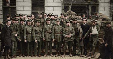 شاهد لأول مرة .. صور للحرب الأهلية الأيرلندية بالألوان