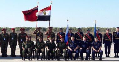 المظلات المصرية تشارك القوات الروسية التدريب المشترك حماة الصداقة 2 بروسيا