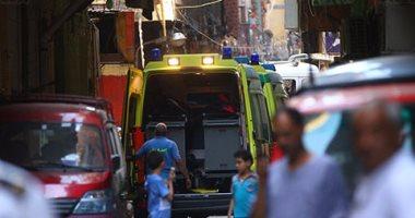ننشر أسماء شخصين لقيا مصرعهما و11 مصابا فى تصادم سيارتين بصحراوى بنى سويف