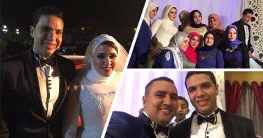 المهندس محمد بكر يحتفل بزفافه على حسناء حسن بحضور الأهل والأصدقاء