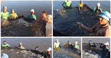 """فيديو.. مشروع """"غليون"""" للاستزراع السمكى حلم مصرى يصل للعالمية"""