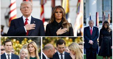 ترامب وميلانيا والأمريكيون يحيون الذكرى الـ16 لهجمات 11 سبتمبر