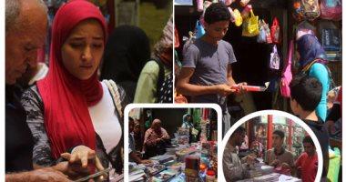 يا أهلا بالدراسة.. الفجالة عاصمة الأدوات المدرسية فى مصر