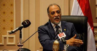 """عبد الهادى القصبى: مشروع قانون """"أسر الشهداء"""" قريبا أمام الجلسة العامة"""