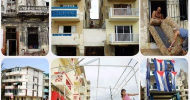 الأثار المدمرة لإعصار إرما فى كوبا