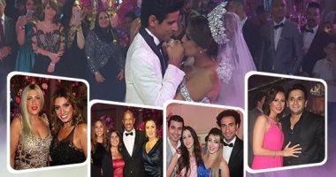 كواليس لم تشاهدها من حفل زفاف حمدى الميرغنى وإسراء عبد الفتاح