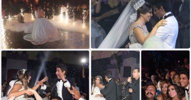 نجوم الفن حفل زفاف حمدى الميرغنى وإسراء عبد الفتاح