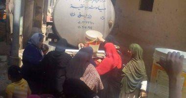 عزبة الهاويس فى المنصورة تشكو من انقطاع مياه الشرب منذ شهر رمضان