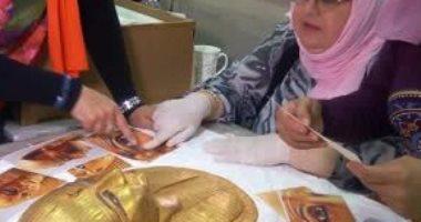 بالصور.. بعد عودته من اليابان تعرف على القصة الكاملة لمعرض عصر بناة الأهرامات
