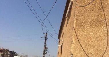 شكوى من تهالك أعمدة الكهرباء بمركز فاقوس فى الشرقية