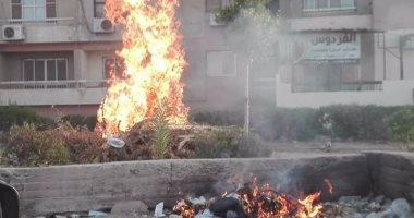 القمامة والأدخنة تحاصر مدينة الفردوس بـ6 أكتوبر والأهالى تستغيث