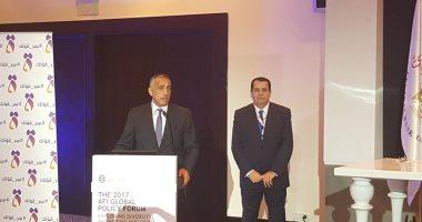 طارق عامر يلقى كلمة ترحيبية للضيوف بمؤتمر الشمول المالى