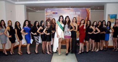 بالصور.. 16 فتاة تتأهل لمسابقة ملكة جمال مصر للسياحة والبيئة