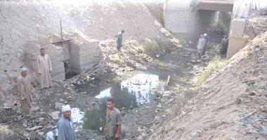 نقص مياه الرى يهدد الفلاحين فى قرية الشناوية ببنى سويف