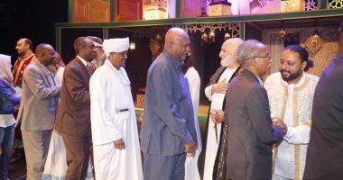 """بالصور .. وفد من الخارجية السودانية فى ضيافة """" قواعد العشق 40 """""""