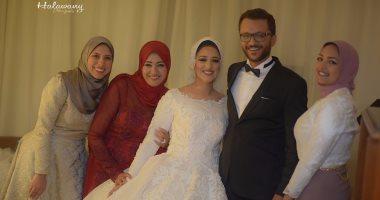 نجوم الإعلام والمجتمع يحتفلون بزفاف المخرج محمد شوقى