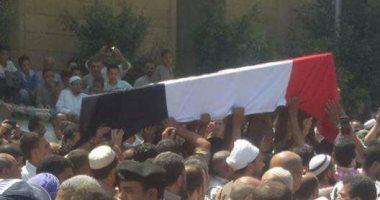 """قارئ يشارك صحافة المواطن بصور تشييع جنازة """"شهيد العريش"""" بالجيزة"""