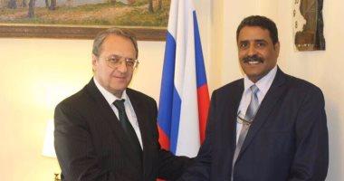 المتحدث العسكرى الليبى يطلع بوجدانوف على جهود الجيش فى حربه ضد الإرهاب