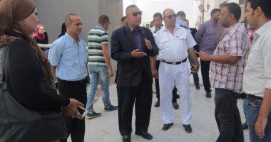 رئيس مدينة أبورديس : لجنة من الصحة لمعاينة المستشفى العام  تمهيدا لافتتاحها فى أكتوبر