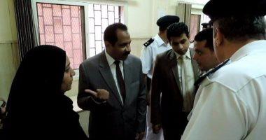 مدير أمن الإسكندرية يجرى جولة مفاجئة بدائرة قسم شرطة ثالث المنتزه