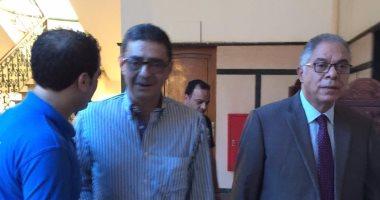 محمود طاهر يصل اجتماع لجنة الأندية فى طنطا