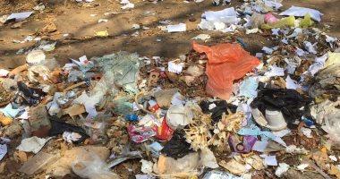 قارئة تشكو من انتشار القمامة فى مدينة نصر