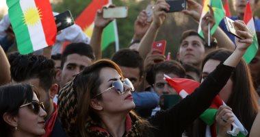 بالصور.. مسيرات فى أربيل لحث الأهالى على المشاركة فى استفتاء كردستان