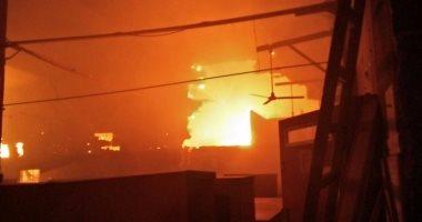 المصرية للاتصالات: السيطرة على حريق محدود بالورش المركزية بوسط القاهرة