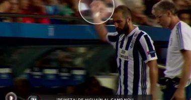 هيجواين مهدد بالإيقاف بعد واقعة مباراة برشلونة ويوفنتوس