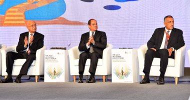 السيسى: الشعب المصرى الجندى المجهول فى تحمل الإجراءات الاقتصادية