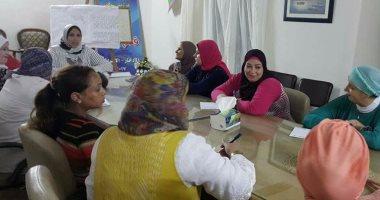 """""""قومى المرأة"""" ببنى سويف: زيارة 49ألفًا و750 أسرة فى حملة """"طرق الأبواب"""""""