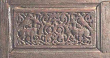 ننشر صور الحشوات الأثرية المسروقة من المتحف القبطى