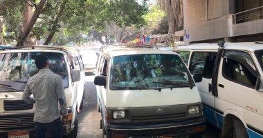 إصابة سائق وعامل فى مشاجرة داخل موقف سيارات بالمنيا