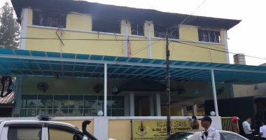 بالصور.. مصرع 25 شخصا فى حريق بمدرسة دينية بكوالالمبور بينهم طلاب