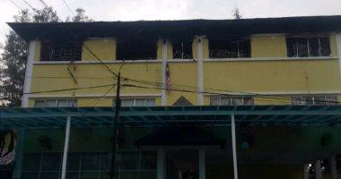 مصرع 25 شخصا فى حريق بمدرسة دينية بكوالالمبور بينهم طلاب