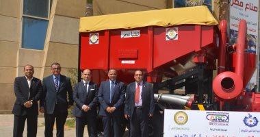 وزارة البحث العلمى تعرض إنتاج أول مقطورة مبتكرة فى معرض صناع مصر