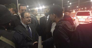 وزير الداخلية يجرى جولة تفقدية بمطار شرم الشيخ لتأمين مؤتمر الشمول المالى