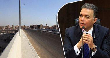 وزير النقل يتفقد أعمال إنشاء ورصف الطريق الدائرى الخارجى لمدينة القصير