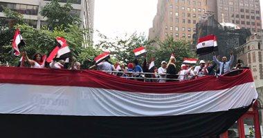 """""""انزل عشان نبنى""""هاشتاج سفارة مصر بالكويت لحث المصريين على التصويت"""