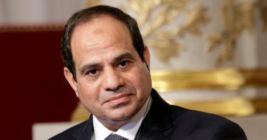 """""""أ ش أ"""": الرئيس السيسى يهنىء لبنان بعيد الاستقلال وسلطنة عمان بالعيد الوطنى"""