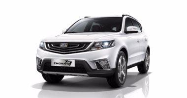 جيلى إمجراند X7 قادمة وبقوة للمنافسة على عرش السيارات الرياضية متعددة الاستخدامات (SUV)