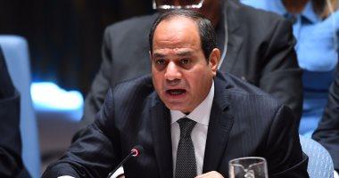 الرئيس السيسى فى كلمته بقمة مجلس الأمن حول قوات حفظ السلام