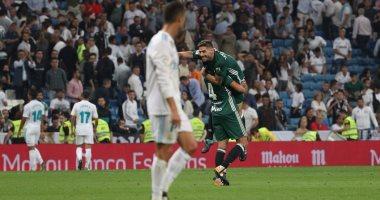 7 أرقام تلخص سقوط ريال مدريد أمام بيتيس فى الدورى الإسبانى -