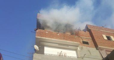 السيطرة على حريق داخل شقة سكنية فى جسر السويس دون اصابات