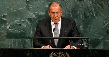 لافروف: الولايات المتحدة تحاول إقامة شبه دولة فى سوريا
