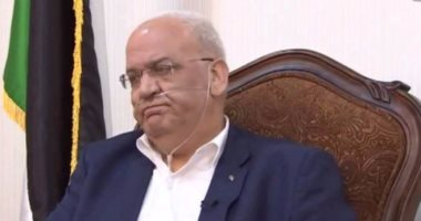 صائب عريقات: عباس وبوتين أكدا هاتفيا أنه لا حل للقضية الفلسطينية سوى حل الدولتين