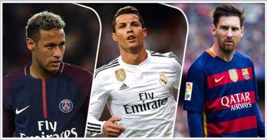 نيمار ينافس رونالدو وميسي على جائزة أفضل لاعب فى العالم